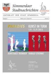 Amtsblatt Nr. 17 vom 21.08.2013 - Sömmerda