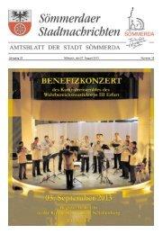 Amtsblatt Nr. 16 vom 07.08.2013 - Sömmerda