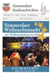 Amtsblatt Nr. 24 vom 27.11.2013 - Sömmerda