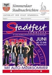 Amtsblatt Nr. 11 vom 29.05.2013 - Sömmerda
