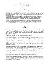 Geschäftsordnung des Kinder- und Jugendparlaments - Sömmerda