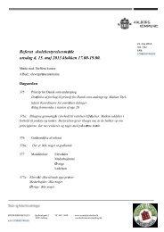 Referat af skolebestyrelsesmøde 15 maj 2013 - Sønderbroskolen