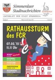 Amtsblatt Nr. 03 vom 06.02.2013 - Sömmerda