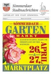 Amtsblatt Nr. 17 vom 23.04.2008 - Sömmerda
