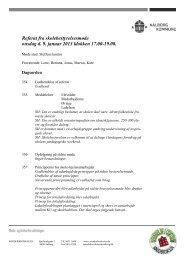 Referat af skolebestyrelsesmøde 9. januar 2013 - Sønderbroskolen