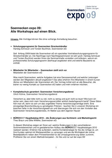 Vortr-344ge Soennecken expo 09