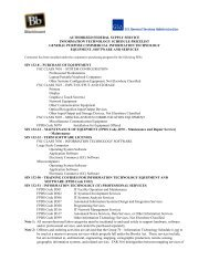 authorized federal supply service information ... - State of Delaware