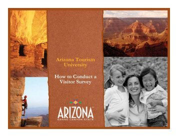 How to Conduct a Visitor Survey - Arizona Office of Tourism