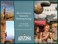 How to Create an Interactive Marketing Strategy - Arizona Office of ...
