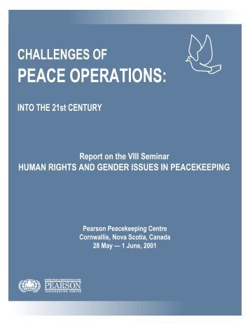 HUMAN RIGHTS AND GENDER ISSUES IN ... - Challenges Forum