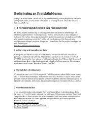 Lista över projekt - KTH