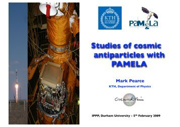 IPPP, Durham University - KTH Particle and Astroparticle Physics