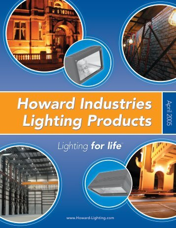 Howard Lighting Product Catalog - Pipestone Electric Supply