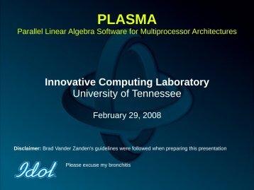df - Innovative Computing Laboratory