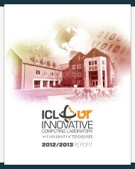 Download - Innovative Computing Laboratory - The University of ...