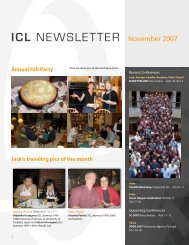 ICL NEWSLETTER November 2007 - Innovative Computing ...