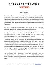 Haweka_PR RPV - Albert Mediamarketing e.K.