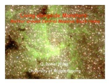 Living alongside Monsters: Stellar and Interstellar Matter around ...