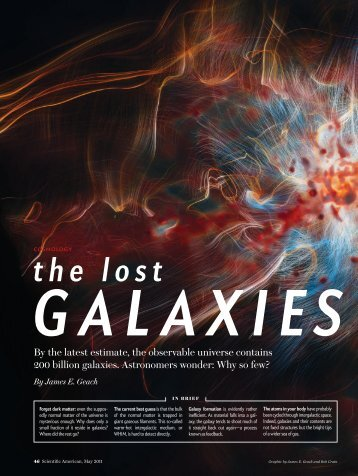the lost - UMass Astronomy - Department of Astronomy - University ...