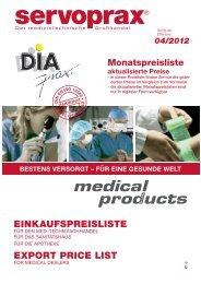 BESTENS VERSORGT – FÜR EINE GESUNDE WELT - Diaprax.com