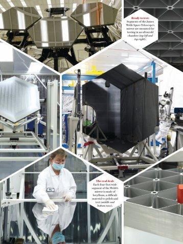 Segments Of The James Webb - UMass Astronomy - Department of ...
