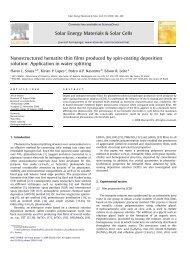 Nanostructured hematite thin films produced by spin ... - CMDMC