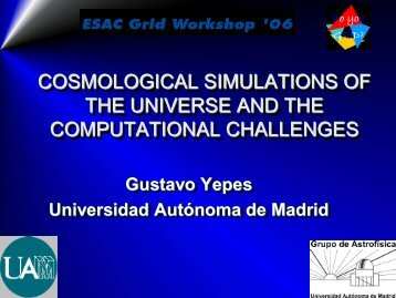 Cosmological SImulations of the Universe and it computational ...
