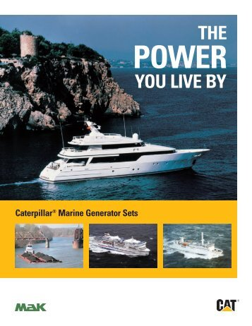 Generator Set Brochure - marine.cat.com