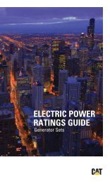 ELECTRIC POWER RATINGS GUIDE - Teknoxgroup