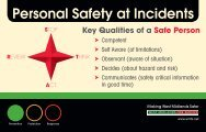 Personal Safety at Incidents Star Pocket Guide - Finning (UK)