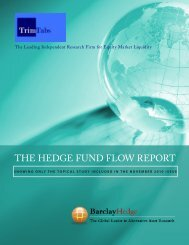 1 | The Hedge Fund Flow RepoRT - Interconti, Limited