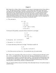 Chapter 8 8.3 In Fig 8-30, a 2.00g ice flake is released from the edge ...