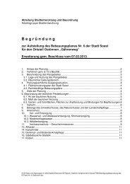 Entwurf der Begründung - Soest
