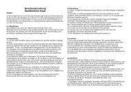 Stadtbücherei- Benutzungsordnung 2014 - Soest