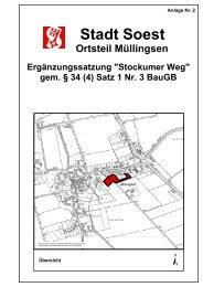 (1) BauGB - Soest