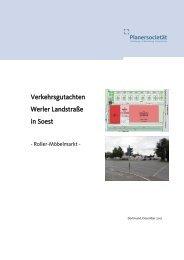 Verkehrsgutachten - Soest