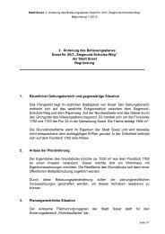 """2. Änderung des Bebauungsplanes Soest Nr. 50/3 """"Siegmund ..."""