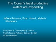 The Ocean's least productive waters are expanding - SOEST