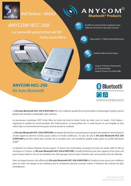 ANYCOM 250 BLUETOOTH DRIVERS DOWNLOAD