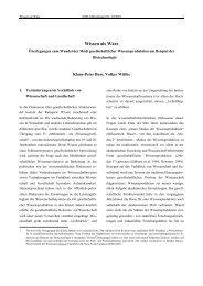 Klaus-Peter Buss; Volker Wittke: Wissen als Ware - SOFI