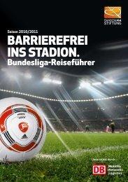 Barrierefrei ins stadion. - Bundesliga-Stiftung