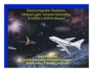 Electromagnetic Radiation, Infrared Light, Infrared ... - SOFIA - USRA