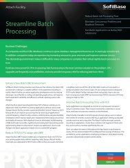 Attach Facility - SoftBase Systems, Inc.