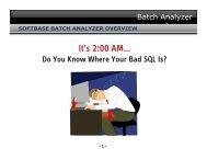 It's 2:00 AM… - SoftBase Systems, Inc.