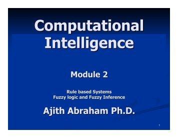 Module 2 - Ajith Abraham