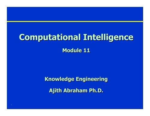 Module 11 - Ajith Abraham