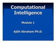 Module 1 - Ajith Abraham