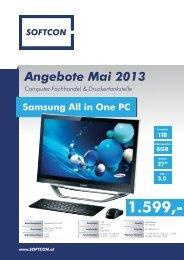 Angebote Mai 2013 Computer-Fachhandel ... - SoftCon GmbH
