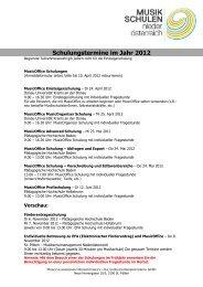 MusicOffice Schulungen - SoftCon GmbH