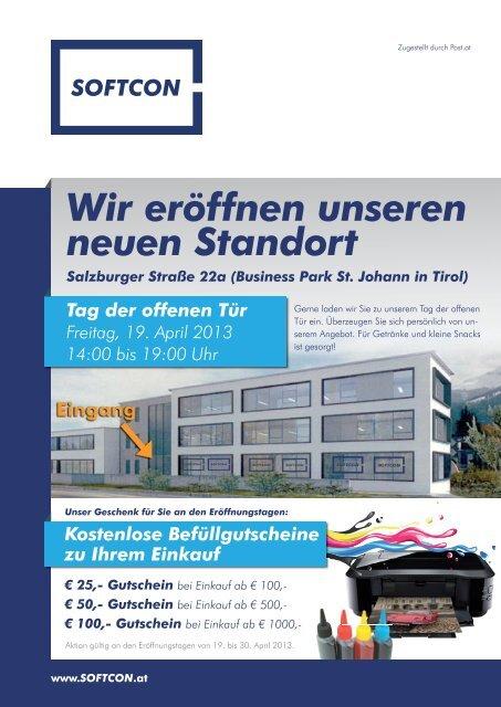 Wir eröffnen unseren neuen Standort - SoftCon GmbH